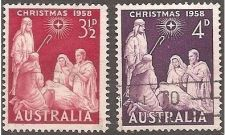Buy Australia: Christmas issue for 1958, Used, Complete