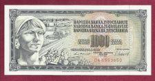 Buy YUGOSLAVIA 1000 DINARA 1981 Banknote DA 6553650 UNCirculated Peasant Woman