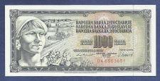 Buy YUGOSLAVIA 1000 DINARA 1981 Banknote DA 6553651 UNCirculated Peasant Woman
