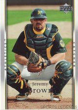 Buy 2007 Upper Deck #31 Jeremy Brown
