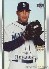 Buy 2007 Upper Deck #40 Cesar Jimenez