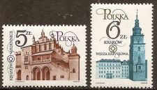 Buy Poland: City of Cracow Monument Restoration (1983) MNH, Complete Set