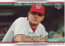 Buy 2007 Upper Deck #50 Brett Campbell