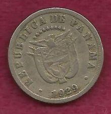 Buy Panama 5 Centesimos 1929, 21.2 mm Coin