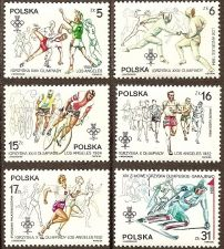 Buy Poland: XXIII Olympiad, Los Angeles (1984), MNH Complete Set
