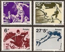Buy Poland: 1980 Olympic Medals and FIFA World Cup 1982 (1983), MNH, Complete Set
