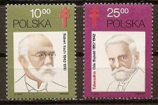 Buy Poland: TB Bacillus Discovery Centenary (1982), MNH Complete Set
