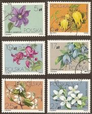 Buy Poland: Local Flowers (1984) CTO Complete Set
