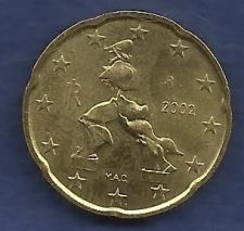 Buy ITALY 20 € EURO CENTS 2002 R Coin