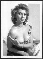 Buy ACTRESS SOPHIA LOREN BUSTY BOSOMY CLEAVAGE POSE REPRINT PHOTO 5x7 SL-2