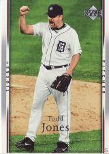 Buy 2007 Upper Deck #116 Todd Jones