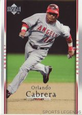 Buy 2007 Upper Deck #137 Orlando Cabrera