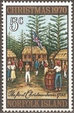 Buy Norfolk Island: Christmas Issue (1970), MNH Single