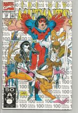 Buy The NEW MUTANTS #100 NM High Grade2nd Print MARVEL COMICS doublesized Last Issue