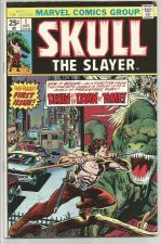 Buy Skull The Slayer #1 Marvel Comics Wolfman, Gan, Marcos 1975 1st Print & Series