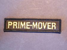 Buy Rare Vintage Defunct Prime-Mover Lifts Iron/Sew on Uniform Patch