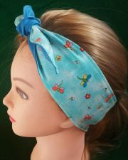 Buy Headband hair wraptie bandana Hippie Boho Dragonflies print 100% Cotton