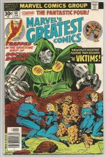 Buy MARVEL's GREATEST COMICS #68 Dr. Doom Jack Kirby 1977 Marvel Comics