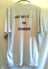 Buy Fruit of the Loom XLarge Gray Tshirt Yearbook Just do it