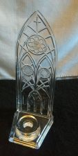 Buy Towle Crystal Lead Crystal Cathedral Votive New Religion Candle
