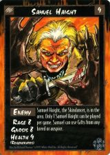 Buy Samuel Haight Rage Card Mint Unplayed Enemy Game Skindancer