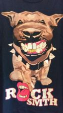 Buy Rock Smith Tshirt Xlarge Pitbull Black Cotton XL