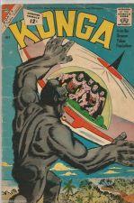 Buy KONGA Vol. 1 #7 Stunning Steve Ditko whole comic CHARLTON Comics 1962