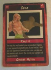 Buy Feint Trading Card Combat Action 1995 Rage 4 Unplayed Mint