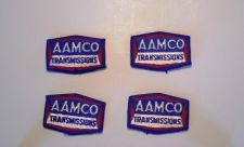 Buy Lot of 4 AAMCO Transmisson Cap/Shirt Iron/Sew on Patches