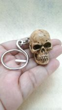 Buy Skeleton Skull Keyring Resin Handmade Keychain Collectibles Bonehead Key Chain