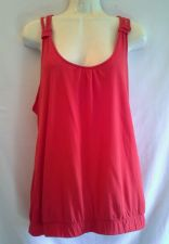 Buy Forever 21 XXI large Red Tank Top Braided Strap Cotton