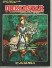 "Buy DREADSTAR Marvel Graphic Novel #3 Marvel Comics JIM STARLIN 8 1/2"" x 11"""