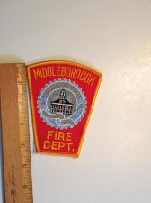 Buy 1990's Era Middleborough Fire, MA Iron/Sew on Patch
