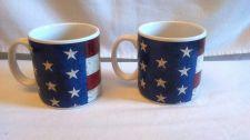 Buy Warren Kimble Colonial Mug Coffee Cup Flag American 4th July Sakura Tea
