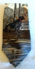 Buy ENDANGERED SPECIES Men's Silk Neck Tie Black Lab Katie D Cundiff