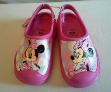 Buy Minnie Junior Pink Clog Style Shoe size 11/12 girls NWT