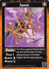 Buy Jannok Rage Card 3 Mint Unplayed Enemy Game Sept 1995
