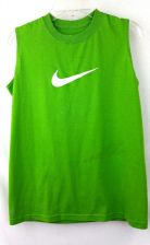 Buy Nike Medium Womens Lime Green Dri Fit M Exercise shirt