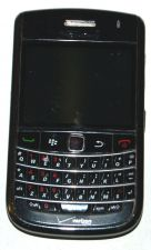 Buy BlackBerry Bold 9650 Black Verizon Smartphone Leather Case Memory Card & Sim