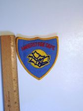 Buy 1980's Era Amherst, MA Fire Iron/Sew on Patch