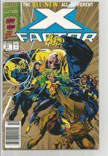 Buy X-FACTOR #71 NM GOLD 2nd Print HOT Peter David MARVEL COMICS High Grade 1991