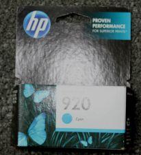 Buy 920 HP BLUE cayan ink jet cartridge - printer OfficeJet 6000 6500 A 7000 7500 A
