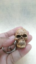 Buy Handmade Skull Keyring Resin Keychain Collectibles Skeleton Bonehead Key Chain