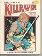 "Buy KILLRAVEN Marvel Graphic Novel #7 Marvel Comics P. CRAIG RUSSELL --8 1/2"" x11"""