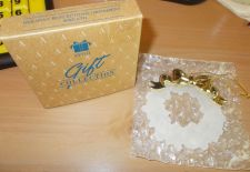 Buy AVON - Holiday Reflections Wreath Ornament - NEW 'OLD STOCK' 1990s