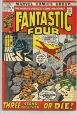 Buy Fantastic Four #119 MarvelComics BLACK PANTHER '72 J. Buscema Thomas FINE/+