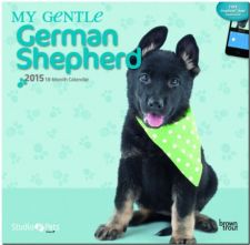 Buy By Myrna - My Gentle German Shepherd 2015 Square 12x12 (Multilingual Edition)