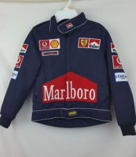 Buy Nascar kids size small Jacket Marlboro Patches Racing