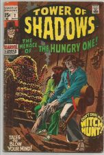 Buy TOWER OF SHADOWS #2 Marvel Comics Thomas, Heck, Adkins, NEAL ADAMS, Buscema 1969