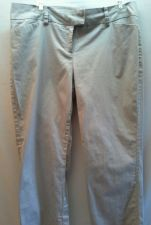 Buy The Limited Pant Khaki 8 Crop Stretch Career Cotten Blend Beige